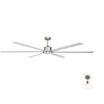 Ceiling Fan with LED Light | Brilliant Hercules