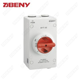 BYT Series Non-Polarity DC Isolator Switch