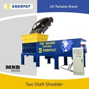UK Enerpart Two Shaft Shredder, Heavy Metal Scrap Shredder