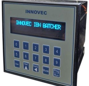 Innovec IBN Batch Controller with Numeric Keypad data Entry