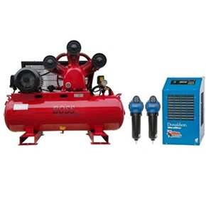 BOSS - 43CFM/ 10HP Air Compressor Clean Air Package - BC43-160LK