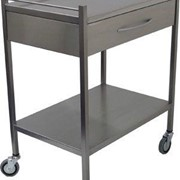 Emery 1 Drawer Dressing Trolley | SS10.1