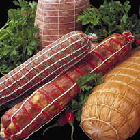 Meat Packaging | All In One Casing | ennio Netted-Casing™ Patented