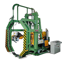 Circumferential Strapping Machine for Steel Coils | Itipack SKE/SKB