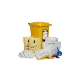 240 Litre Oil & Fuel Wheelie Bin Spill Kit