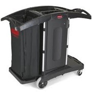 Compact Folding Housekeeping Cart | 9T76