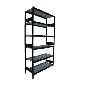 Shelving Bay | Longspan 600W x 2410H With 6 x Wire Shelves