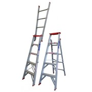 Aluminium Dual Purpose Ladder | INDALEX Tradesman