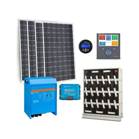 Powered Off Grid Solar Kit – Solar Panels - 3kW PV Array