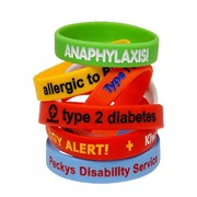 Medical Alert Bracelets | Custom Colour