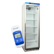 Vaccine Fridge 350lt with glass door & FREE DATA LOGGER | NULHR400G
