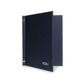 A4 Two Part Menu Folders Hard Book Covering Your Logo Printing