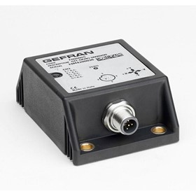 Inclinometers - GIT Top single/dual axis inclinometer (XY/360°)