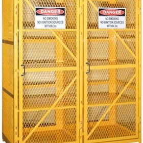 Aerosol Safety Storage Gas Cages - PSGC16A