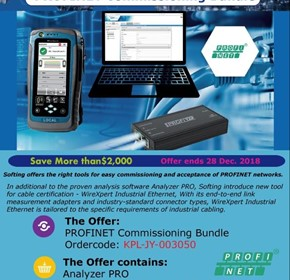 Softing December Special - PROFINET Commisioning Bundle