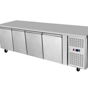 Stainless Steel 4 Solid Doors Undercounter Bench Fridge EPF3442