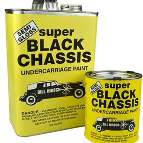 Semi-Gloss Super Black Chassis Undercarriage Paint | BHSBC.946