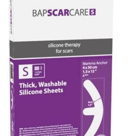 BapScarCare S Scar Management Silicone Sheet -Mamma Anchor