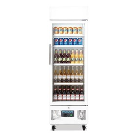 Refrigerator Upright Fridges 218Ltr Glass Door - DM075-A