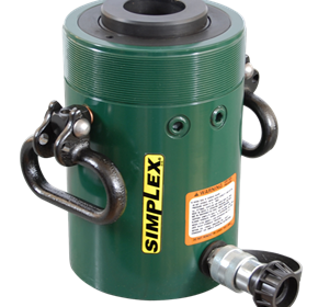 Simplex | RC Series - Single Acting Center Hole | Steel Cylinders