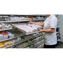 Hospital Pharmacy Storage and Shelving