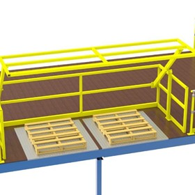 Verge Roll Over Pallet Safety Gates - DV209