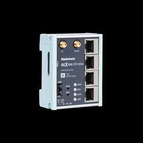 Industrial LTE Remote Network Management Router -  REX100 LTE