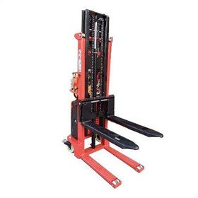 Semi Electric Straddle Pallet Stacker Lifter 1.5T 3000MM | GE30W