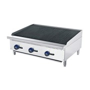 Gas Rock Char Grill - 1220mm