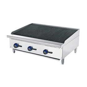 CookRite Gas Rock Char Grill - 1220mm