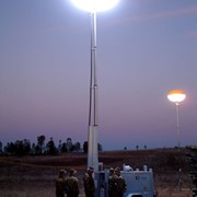 Lunar Lighting Glare-Free HMI Light Tower | 12000W HMI