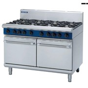 1200mm Double Oven Range With 2 Static Ovens | MO-G528D