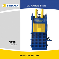 Vertical Aluminum Can/Cardboard Baling Machine with UK Brand