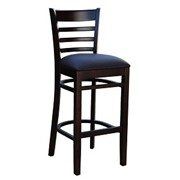 Florence Indoor Barstool | Vinyl Upholstered Seat