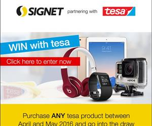 Win big with Signet and tesa