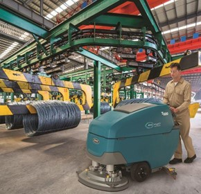 T600 Walk Behind Scrubber Dryer