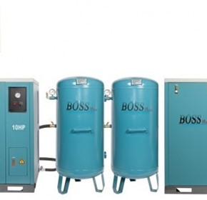 BOSS - 48CFM/ 20HP Silent Workshop Air Compressor - BQT50P-440L