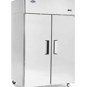 Top Mount 2 Solid Door Upright Freezer - MBF8002