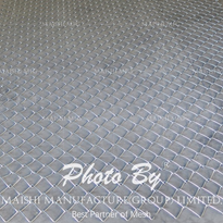 Stainless Steel Chain Link Diamond Fence