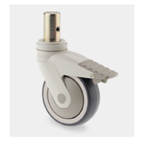 80% Off Sale Synthetic Brake Castors | Levina