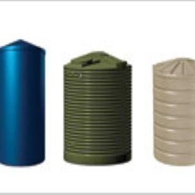 Water Storage Tanks - Round