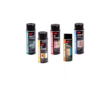 3M Spray Adhesive Range