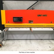 Hydraulic Swing Beam Guillotine | SB4-2500 | Metalmax