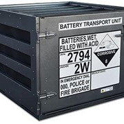 Transportable Battery Cage |  Dangerous Goods Storage | 145 Litre