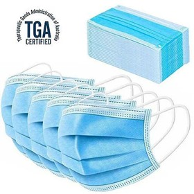 Level 2 Type IIR 3 Ply Face Mask - TGA Certified