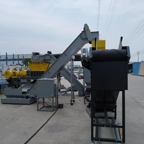 UK Commercial Oil Filter Recycling Line