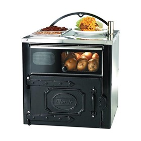 KEE-CLCOMPBLK Classic Compact Potato Oven