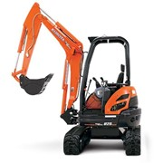 Mini Excavators I U25-3 Zero-swing 2.5 Tonne Mini Excavator