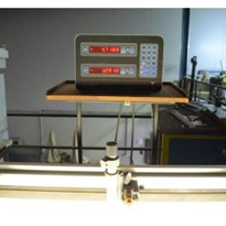Used Light Table with Digital Scale and Microscope Attachment