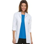 "82402 30"" Women's Professional White Lab Coat 3/4"